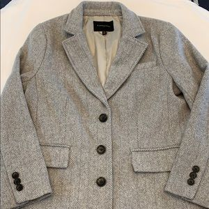 Banana Republic herringbone coat